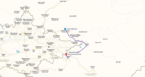 Село Советское Базар-Коргонского района
