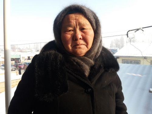 Сагын Табылдиева ,  Ак-Моюн айылынын тургуну