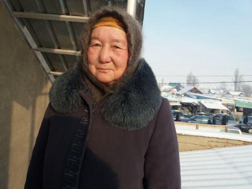Имирова Сайрабүбү , Баш-Кайыңды айылынын тургуну