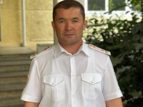 Полковник Т. Нурбаев