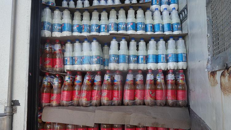 Россельхознадзор не пропустил 9 тонн напитков «Тан» и 180 кг бараньего жира из Кыргызстана