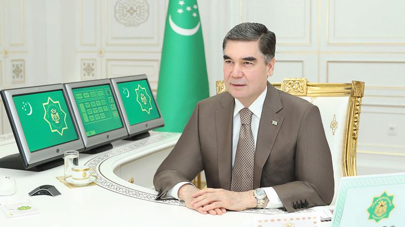 Бердымухамедов поручил искать новые зарубежные каналы сбыта излишка произведенных в Туркменистане товаров