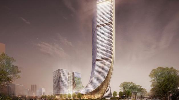 В Узбекистане планируют построить 200-метровый небоскреб