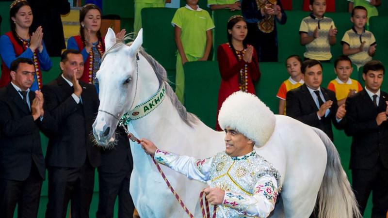 Ахалтекинский скакун Бердымухамедова вошел в Книгу рекордов Гиннесса, побив рекорд коня из Дубая