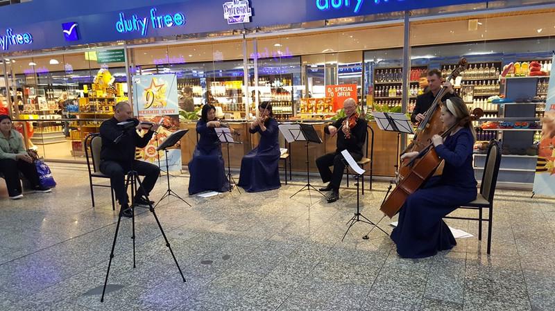 В День Победы ОАО «МАМ» устроило музыкальный сюрприз для своих пассажиров (фото, видео)
