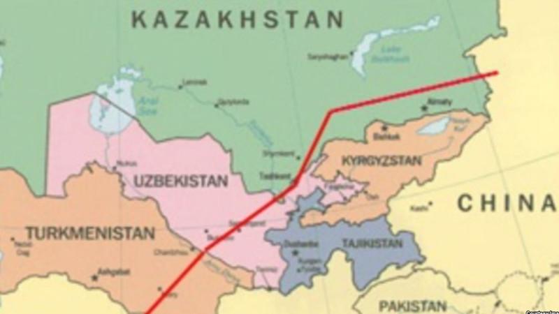 Таджикистан отвел под строительство газопровода до Китая 9,5 тысяч гектаров земли