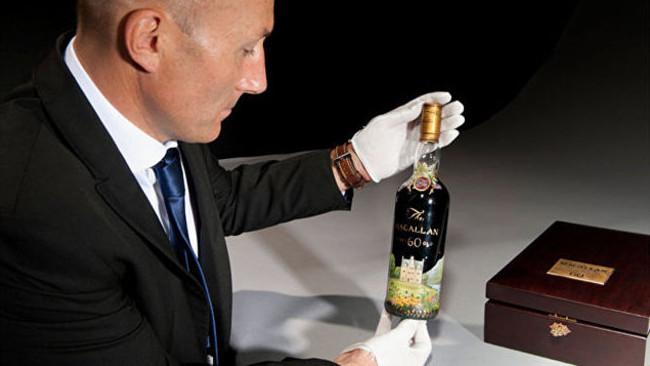 В Британии продали самую дорогую бутылку виски в мире