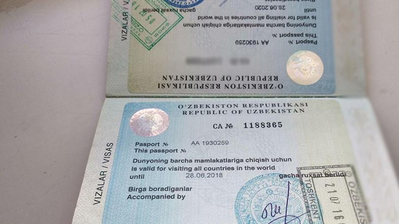В Узбекистане отменили стикеры ОВИР и начали выдавать загранпаспорта