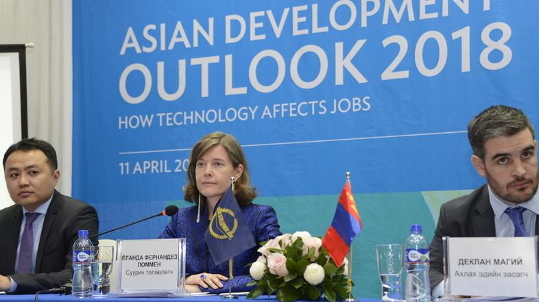 АБР: Рост ВВП Монголии в 2018 году составит 3.8%