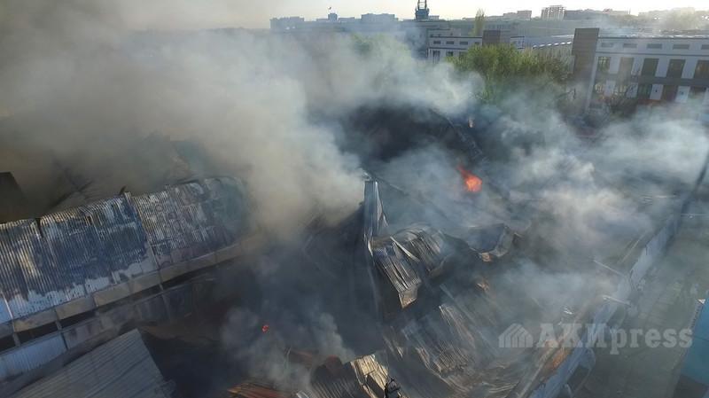 Пожар на Ошском и Жалал-Абадском рынках: Какие документы должны предоставить пострадавшие предприниматели