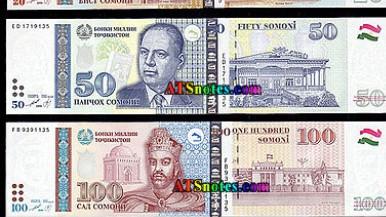 Нацбанк Таджикистана введет в оборот денежные купюры с дополнительной защитой