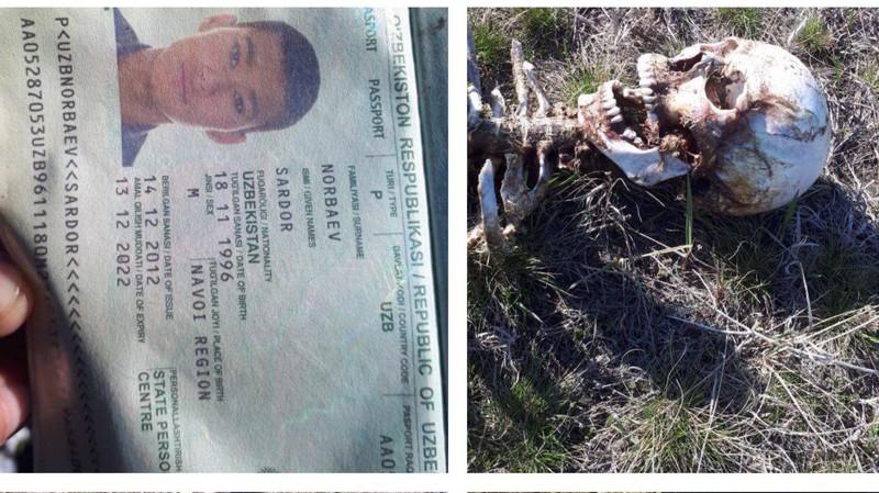 Узбекские дипломаты подключилось к делу о гибели мужчины, скелет которого нашли на границе Казахстана