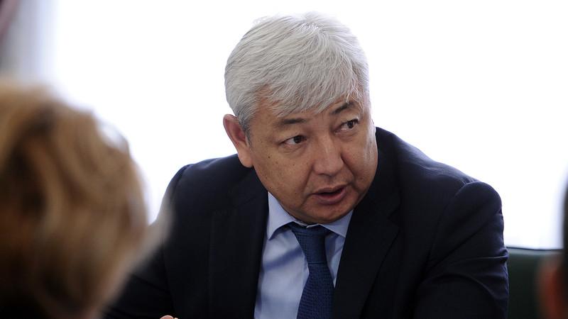 Глава Госэкотехинспекции К.Муратбеков находится на допросе в Генпрокуратуре по вопросу ТЭЦ Бишкека