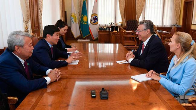 Алматы и Швейцария намерены укреплять торгово-экономические и культурно-гуманитарные связи