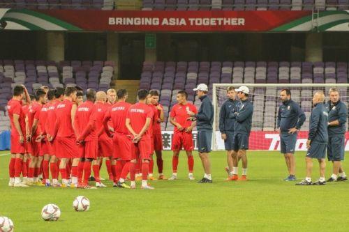 КР - Корея, тренировка