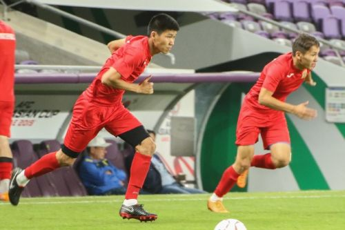 КР - Корея, тренировка9