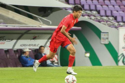 КР - Корея, тренировка7