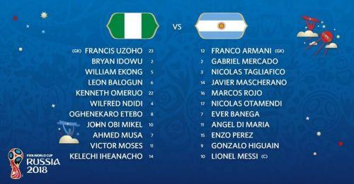 Агентина - Нигерия