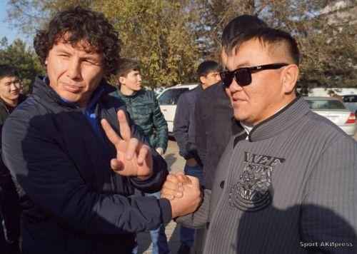 Эмиль Токтогонов и Мансур Тугизбаев