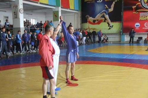 Sambo championship among the police-2018.Osh (11)