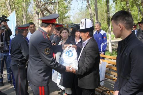 Sambo championship among the police-2018.Osh (8)