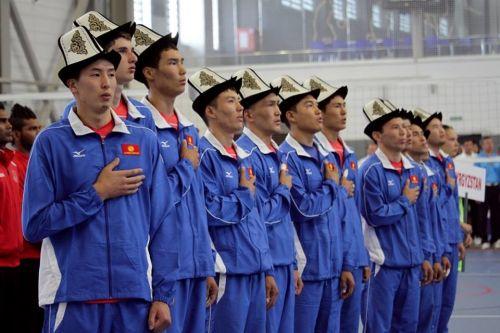 Сборная Кыргызстана по волейболу1