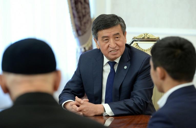 Сооронбай Жээнбеков и Жоламан Шаршенбеков1