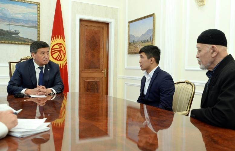 Сооронбай Жээнбеков и Жоламан Шаршенбеков