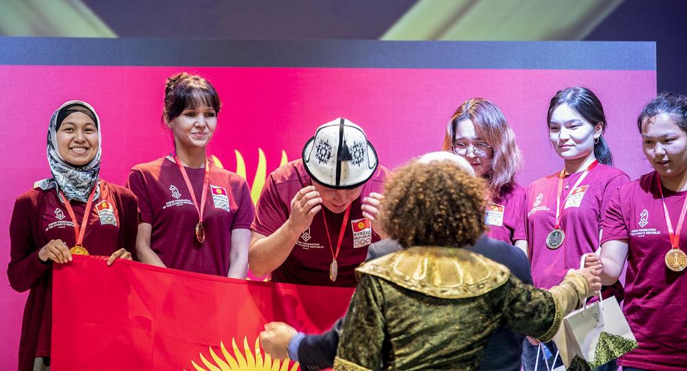 Женская сборная КР по шахматам2