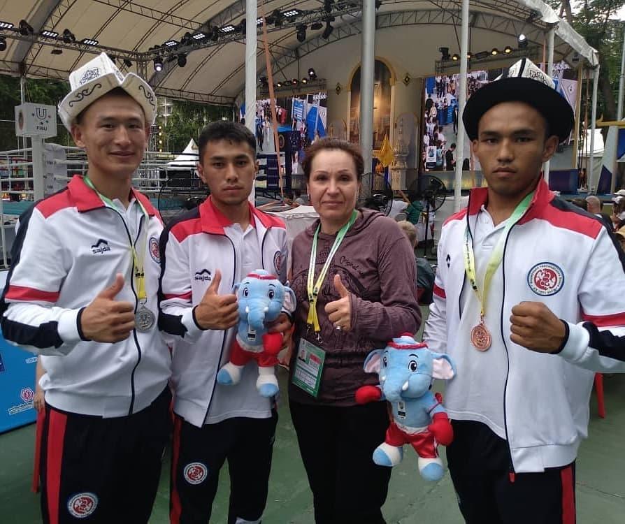 Сборная КР по тайскому боксу