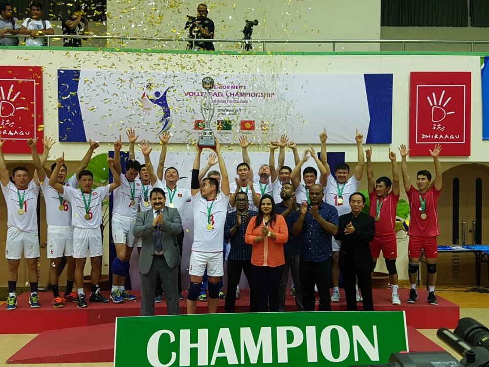 Кыргызстан - чемпион